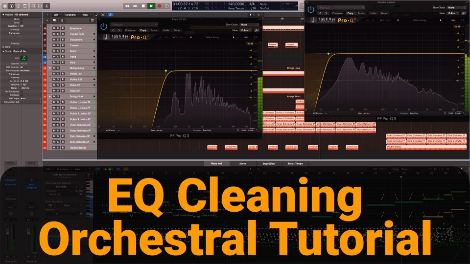 EQ Clean Up Orchestral instruments