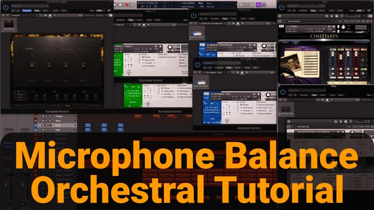 Microphone Balance Orchestral Instruments