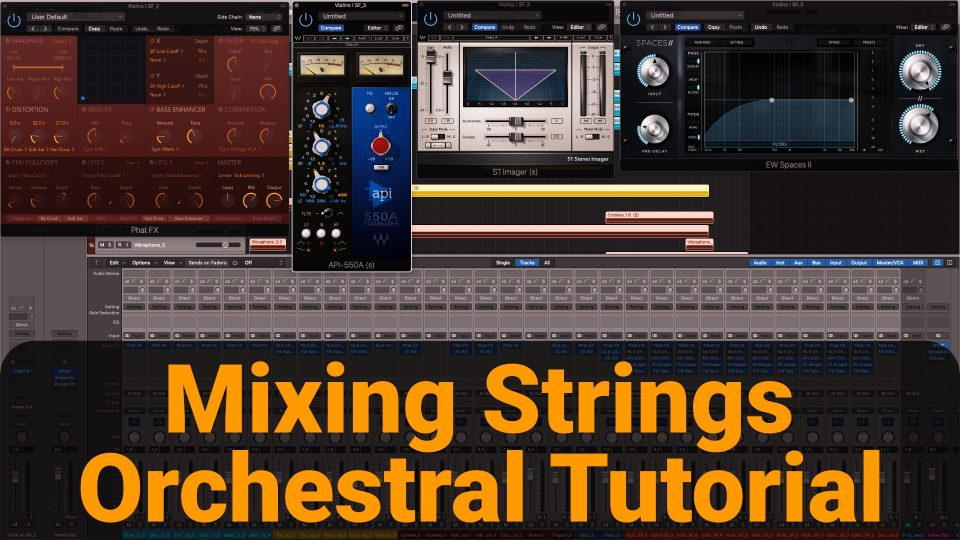 Mixing Orchestral Strings