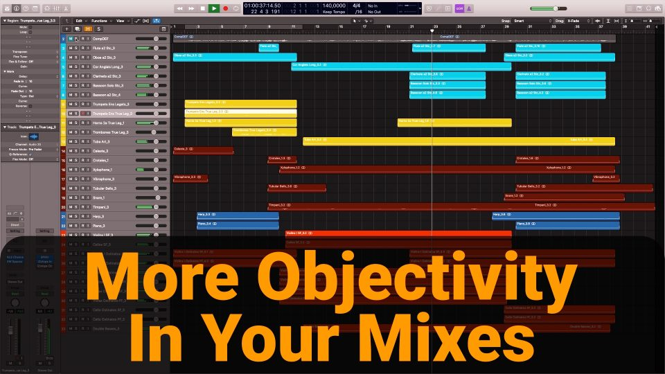 Objectivity orchestral mixes