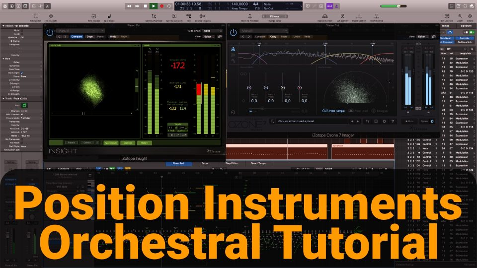 Panning - positioning orchestral instruments