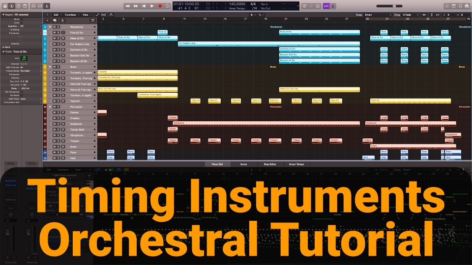 Timing Orchestral Instruments