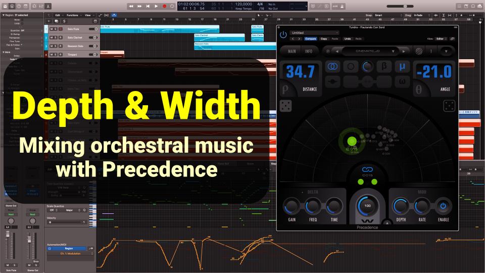 Depth Width Orchestral Mixes Precedence 2CAudio