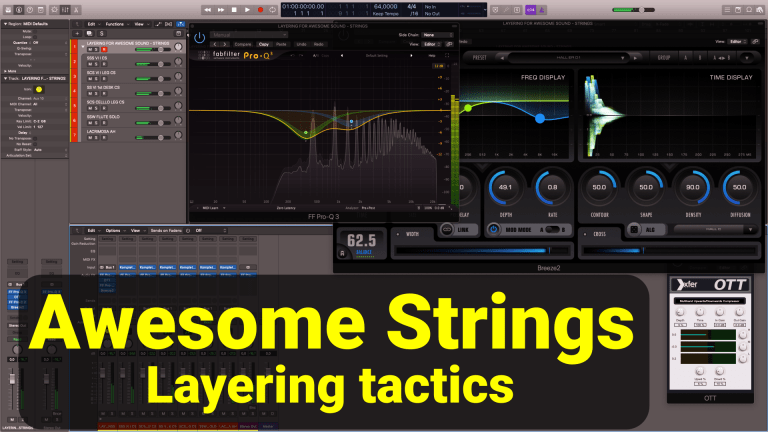 Orchestral Strings That Sound Full and Awesome - Layering tactics