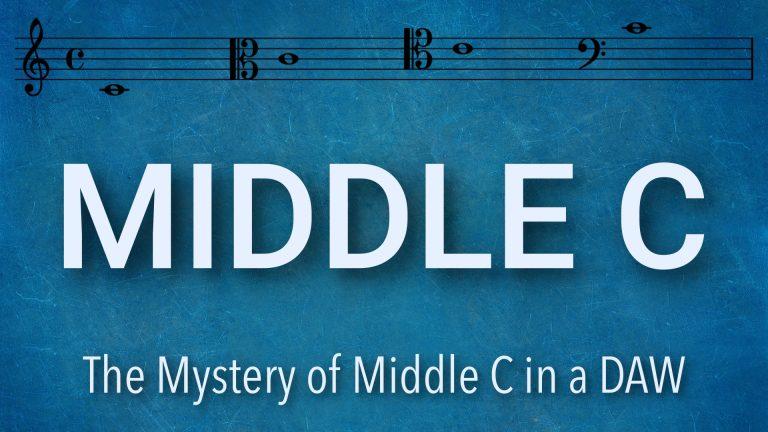Middle C Mystery DAW