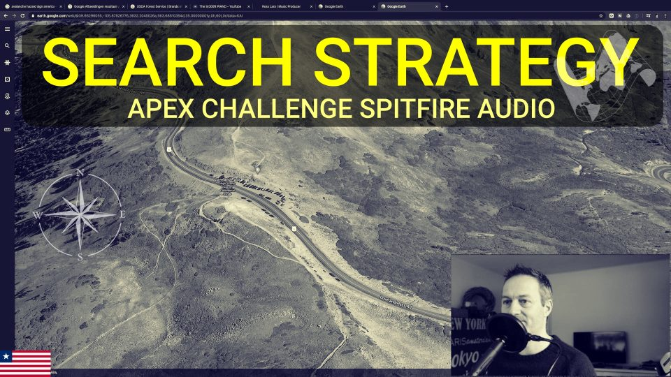 APEX Challenge Spitfire Audio - Search Strategy