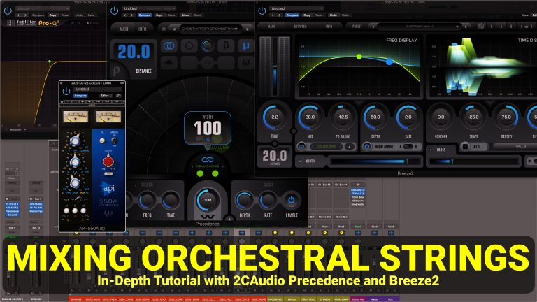 MIXING ORCHESTRAL STRINGS PRECEDENCE BREEZE2