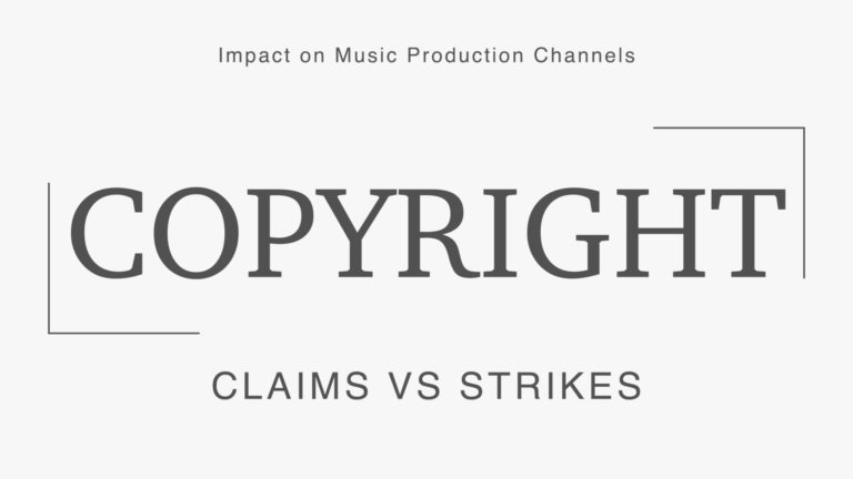 Copyright Claims Strikes Music Production