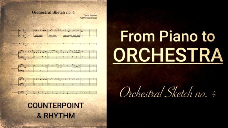 Orchestral Sketch no. 4 - Counterpoint and Rhythm
