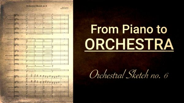 Orchestral Sketch no. 6 - Tutti Transition