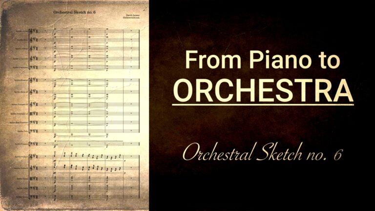 Orchestral Sketch no. 6 - Tutti Transition