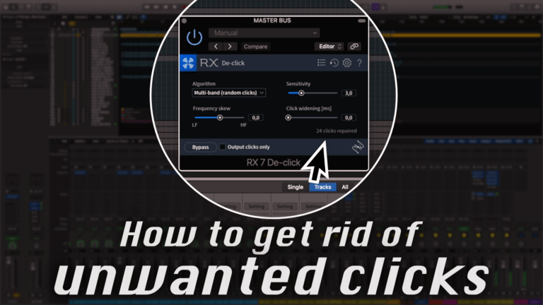 How to get rid of unwanted pops and clicks in your music and audio production in seconds with iZotope RX Elements