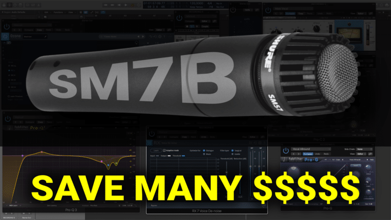 Turn your Shure SM57 Microphone into a Shure SM7B