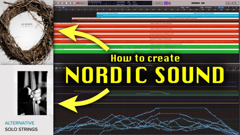 NORDIC SOUND ALBION TUNDRA AND ALTERNATIVE SOLO STRINGS