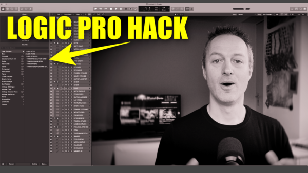 Logic Pro Hack - Quick access to favourite libraries & (mini) templates