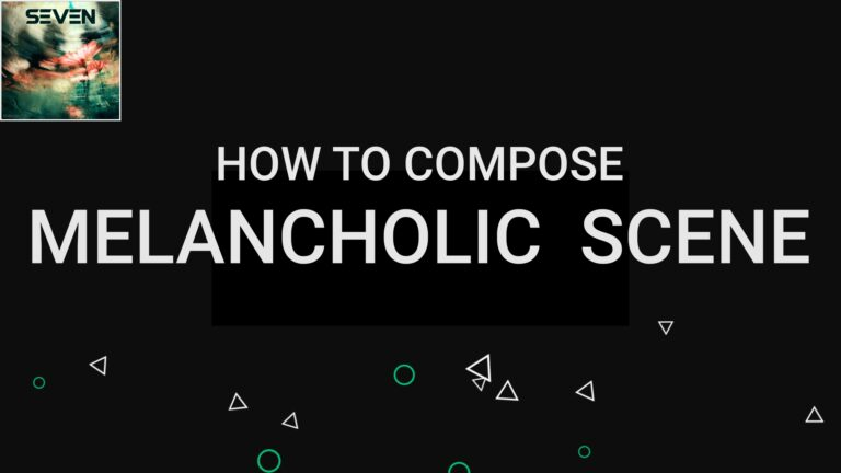 Storyline 4 - Melancholic sound | How to compose orchestral music with modes